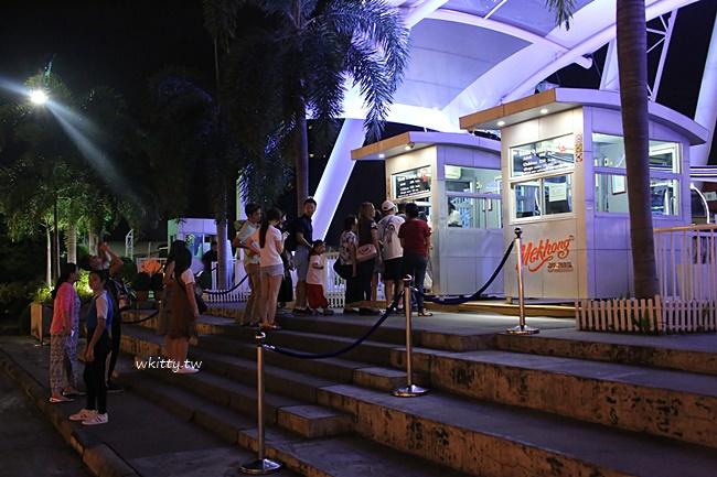 【曼谷摩天輪】Asiatique Sky河濱碼頭夜市摩天輪,轉三圈看夜景 @小環妞 幸福足跡