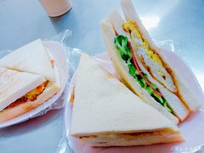 【高雄美食推薦】大胖碳烤三明治,第一次吃到這麼好吃的三明治 @小環妞 幸福足跡