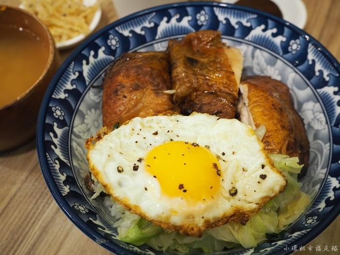 【台南美食推薦】蛋蛋豪,經典的烤雞腿飯,晚來餐廳外排隊摟 @小環妞 幸福足跡