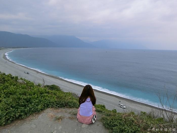 【花蓮私房景點】四八高地,眺望整個七星潭月牙灣的花蓮秘境 @小環妞 幸福足跡