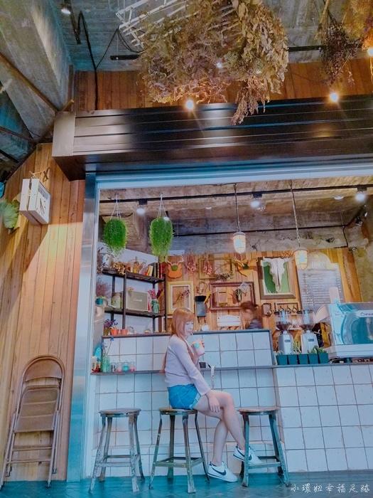 【台南咖啡廳】花樓follow coffee,乾燥花妝點的IG拍照朝聖處 @小環妞 幸福足跡