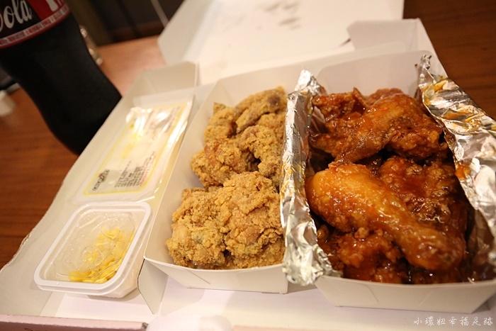 【韓國請飯店叫炸雞攻略】首爾外送宵夜Happy Choice韓式炸雞 @小環妞 幸福足跡