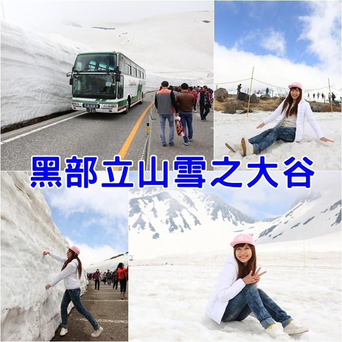 【黑部立山開山時間】室堂雪之大谷,超過10公尺高雪壁,大震撼
