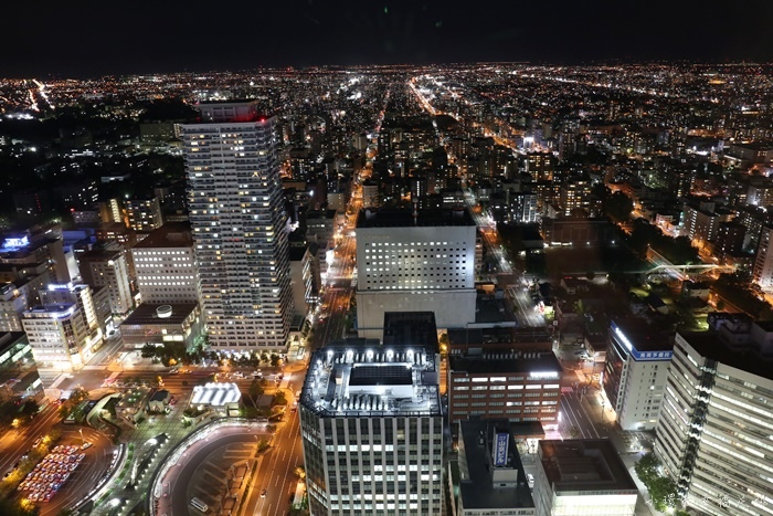 【札幌景點】T38展望台,JR Tower頂樓札幌市容夜景,超美必去!