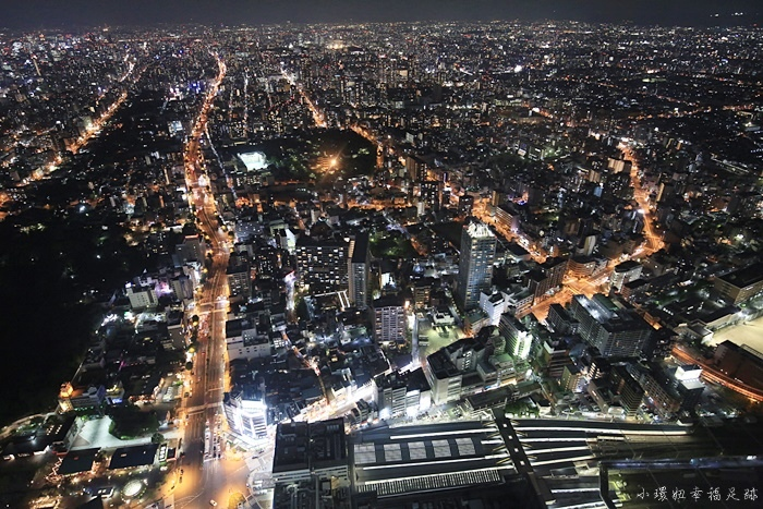 【大阪夜景推薦】阿倍野HARUKAS觀景台,360度環繞夜景,大阪百萬夜景一覽無遺