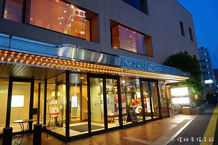 【松本住宿推薦】東急REI飯店(Tokyu REI Hotel),便宜交通方便,松本巴士站旁,松本車站2分鐘【23】 @小環妞 幸福足跡