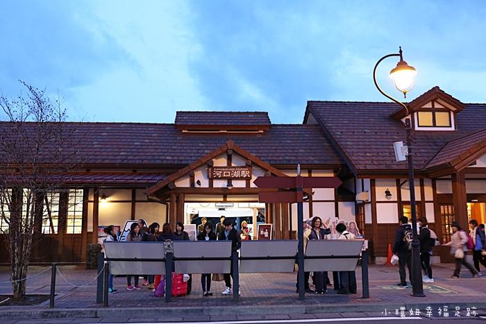 【河口湖車站】交通/巴士/寄放行李,附近景點美食攻略【3】 @小環妞 幸福足跡