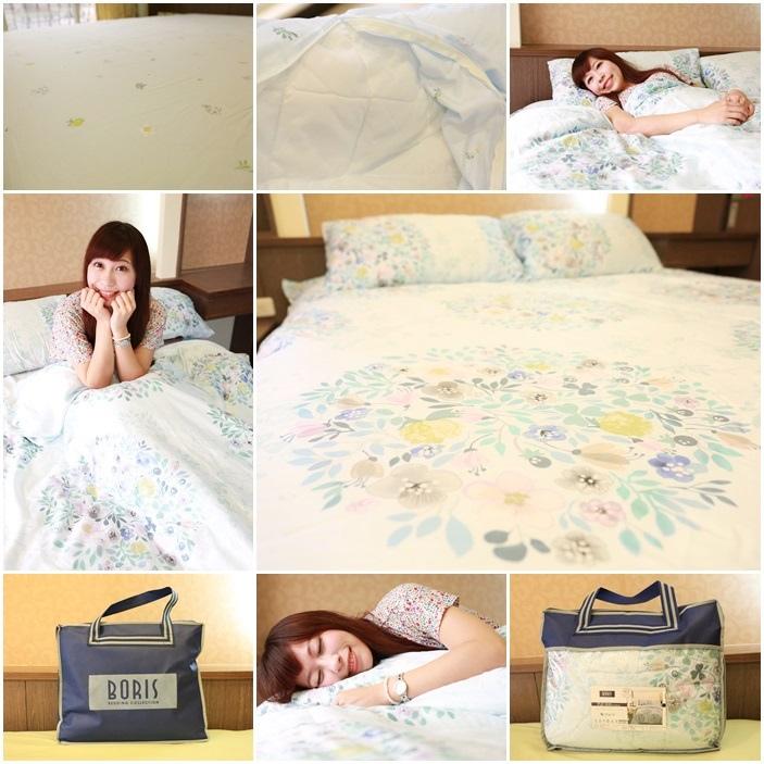 【寢具】夢幻的春夏床組,100%天絲纖維,築夢小舖四件式床包組cp值好高唷!
