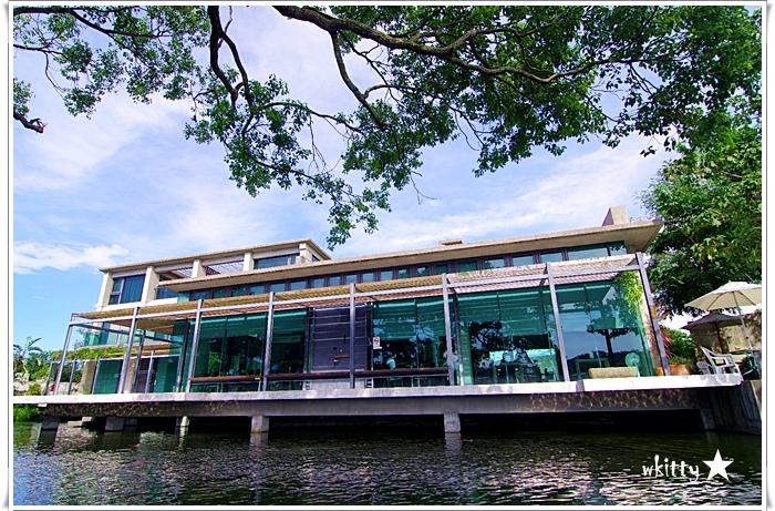 【新竹景觀餐廳】二泉湖畔咖啡民宿,漂亮的水上建築!