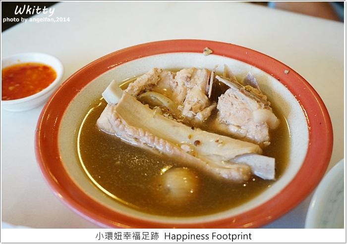 【新加坡自由行(14)】黃亞細肉骨茶,中藥味濃,沾醬好吃,肉質鮮嫩!