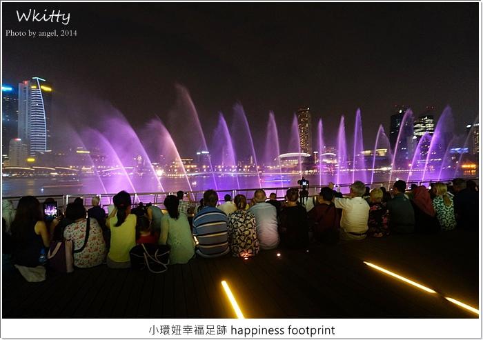 【新加坡自由行(12)】金沙酒店前水舞秀,精采絕倫!