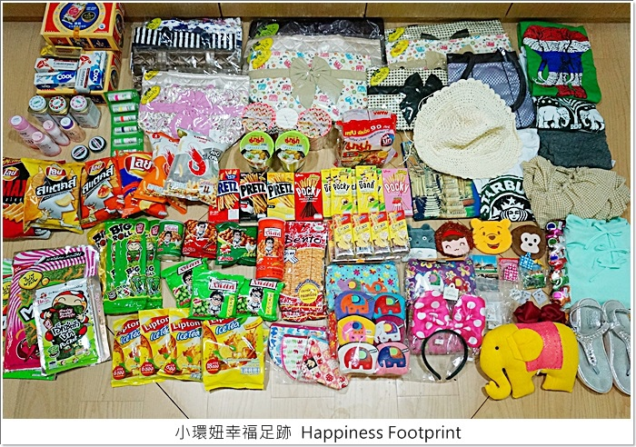【曼谷(4)】泰國曼谷必買戰利品擺滿地,Big C必買清單、必買藥妝 @小環妞 幸福足跡