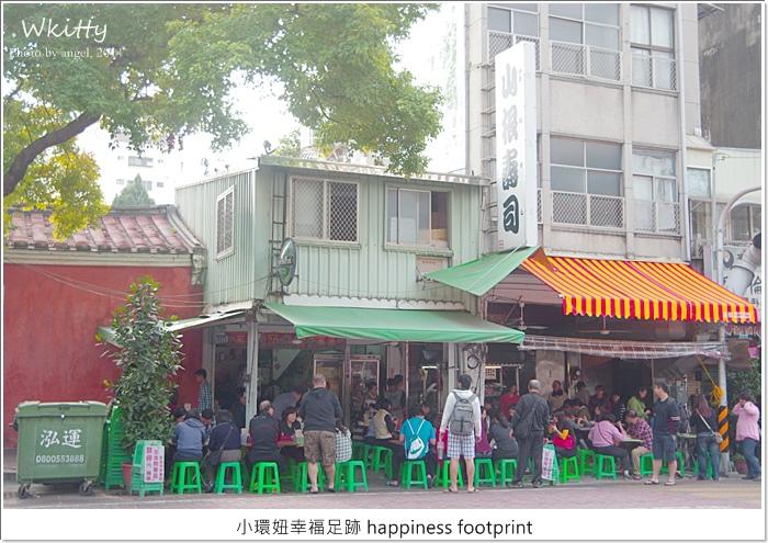 【台南美食】山根壽司,台南中西區♥ 大馬路旁人滿為患的路邊攤日本壽司! @小環妞 幸福足跡