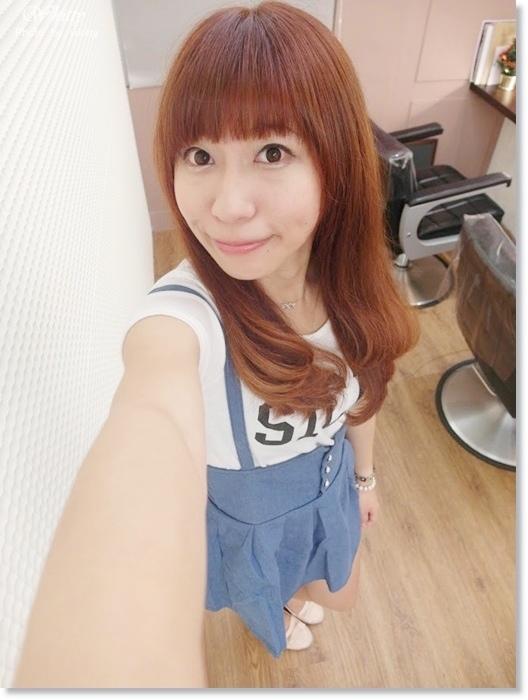 ▌染髮 ▌BONBONHAIR*台北中山站♥橘咖啡色讓我陽光下一整個好搶眼好迷人!