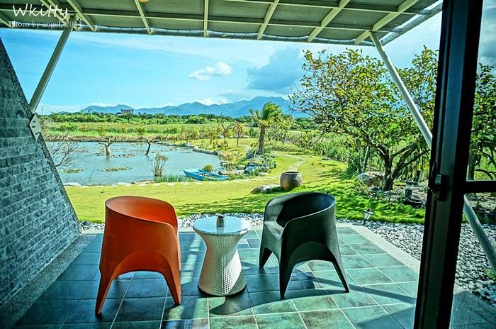 [宜蘭五結民宿] 傳藝渡假民宿 ♥ 整個大自然就是你的陽台,超推的綠意生態民宿! @小環妞 幸福足跡