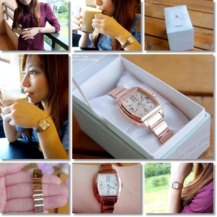 [穿搭時尚] SEIKO LUKIA*台灣精緻錶 ♥ 超有質感的女錶,出門旅遊&上班OL的最佳時尚配件 @小環妞 幸福足跡