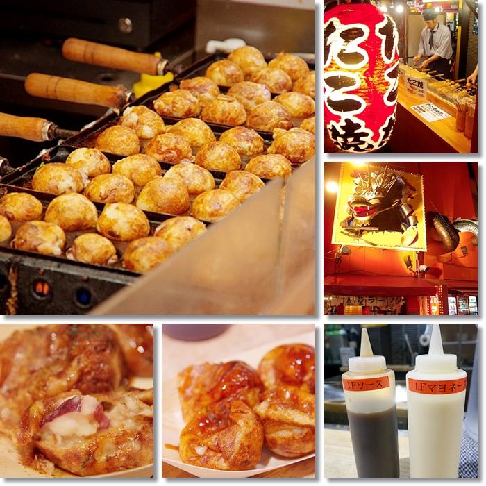 【大阪小吃】たこ家道頓堀くくる 章魚燒,來日本一定要吃的章魚燒(18) @小環妞 幸福足跡