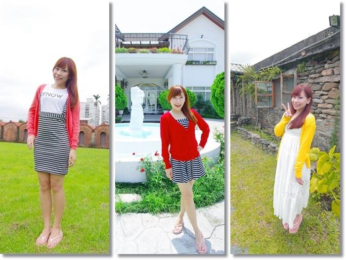 ▌敗家 ▌淘寶MIUSA針織衫(短版) ♥ 夏日必備針織小外套,紅黃橘好搶眼啊!