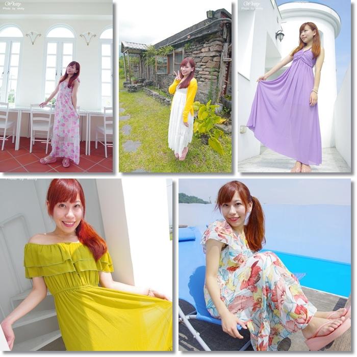 [敗家]淘寶BEBI家洋裝 ♥ 夏天必備長洋裝,防曬,渡假風