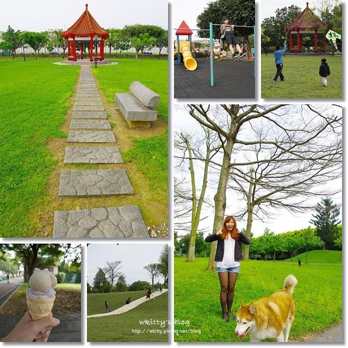[桃園景點]˙埔頂公園 ♥ 又大又美的綠地公園,住附近的居民真幸福,溜小孩放風箏好愜意