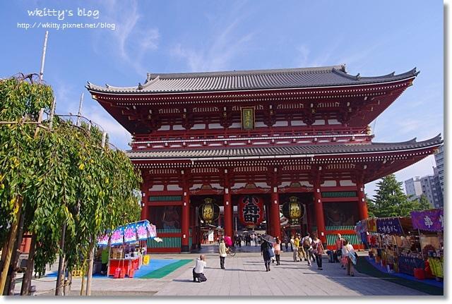【東京必去景點】雷門淺草寺,江戶風情的仲見世通(32)