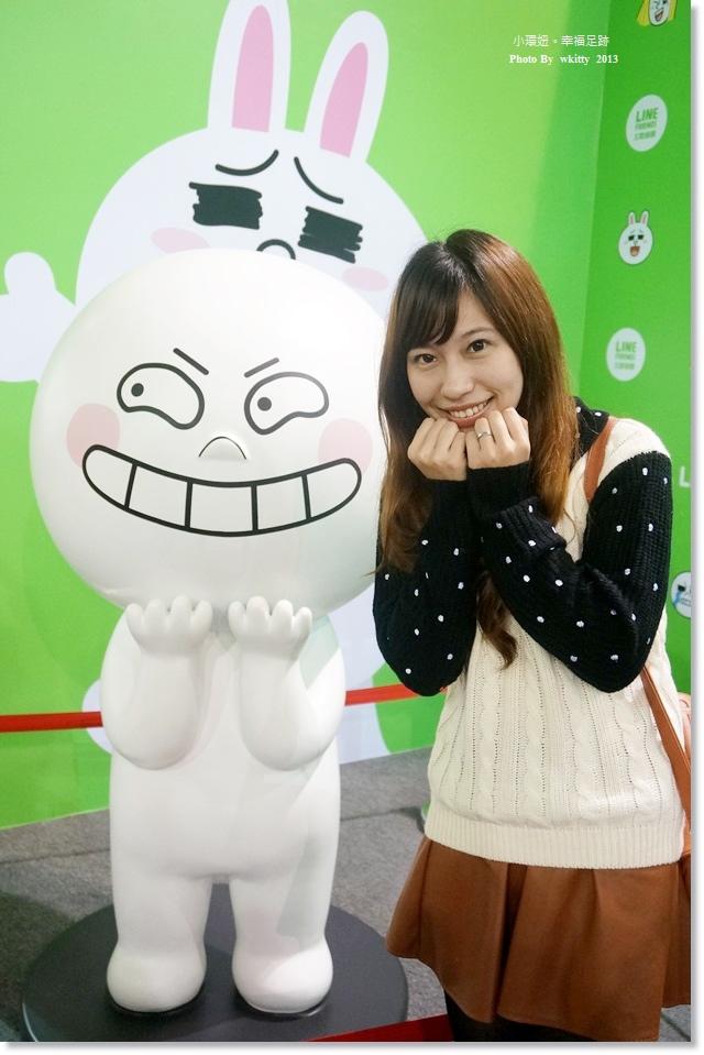 ▌展覽 ▌台北˙科教館,跟熊大和兔兔一起約會唄 ♥ LINE FRIENDS 互動樂園展覽 @小環妞 幸福足跡