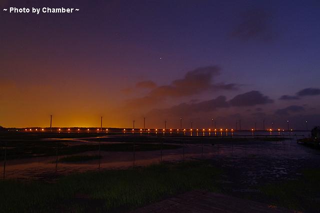 ▌環島 ▌台中 夜景超迷人 ♥ 高美溼地+大坑四座橋