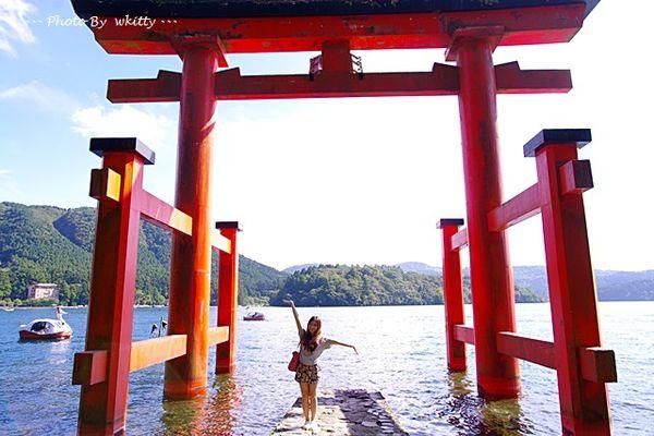 [東京箱根行程] 元箱根 箱根神社 ♥ 水上鳥居好壯觀(26)