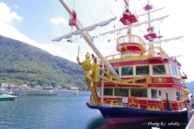 [東京箱根自由行] 箱根海賊船 ♥ 蘆之湖好風光~一起來當個小海盜吧(24)