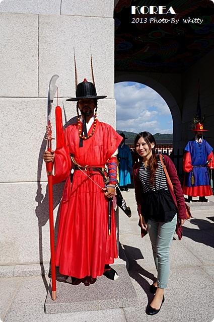 [韓國首爾景點] 景福宮 ♥ 走入大長今場景,2013首爾小旅行(7)