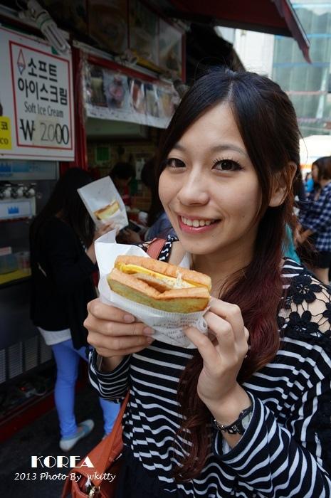 [韓國首爾必吃] 韓國國民早餐,好吃肉排吐司 ♥ Isaac,2013首爾小旅行(6)