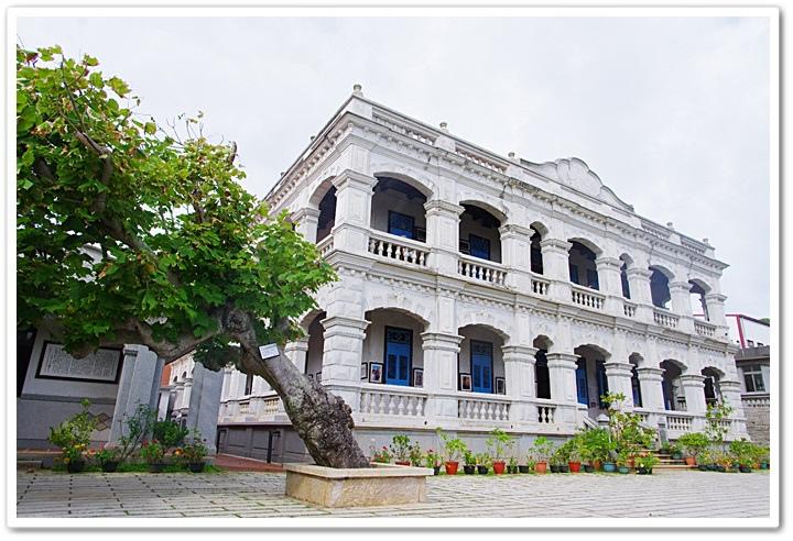 [金門景點]˙陳景蘭洋樓 ♥ 金門第一洋樓,美得像在歐洲