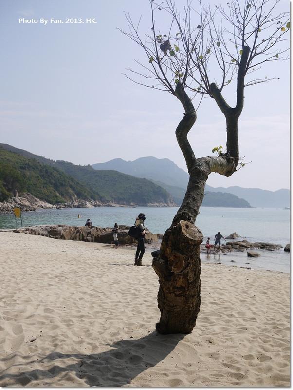 香港南ㄚ島下集 ♥ 不一樣的香港,迷人海灘曬曬陽光,2013香港自由行 @小環妞 幸福足跡