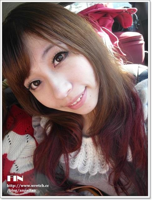 ▌髮記 ▌亞麻綠+紅紫色的繽紛雙色染 ♥ 變成眾人的焦點了!