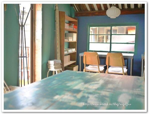 [台南美食餐廳]太古101咖啡。復古藍綠色˙老屋下午茶 @小環妞 幸福足跡