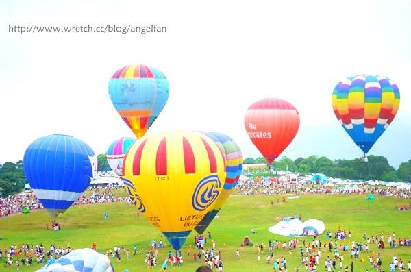 [台東旅遊景點] 鹿野熱氣球嘉年華,今夏夢想起飛