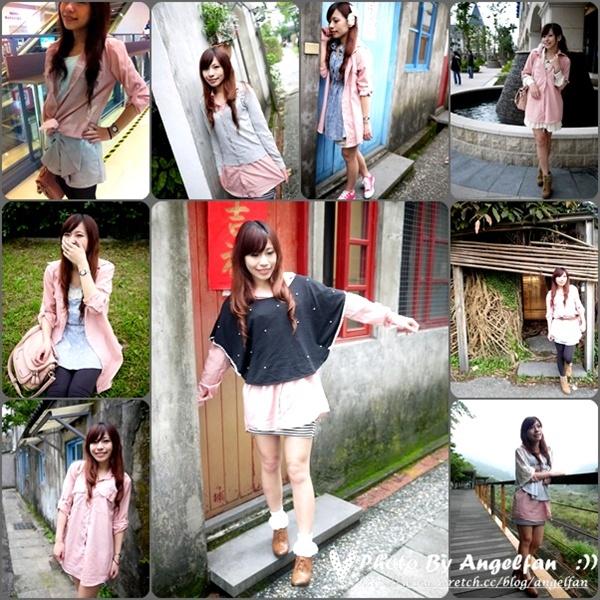 [穿搭]粉色襯衫變身千面女郎~12種LOOK穿搭