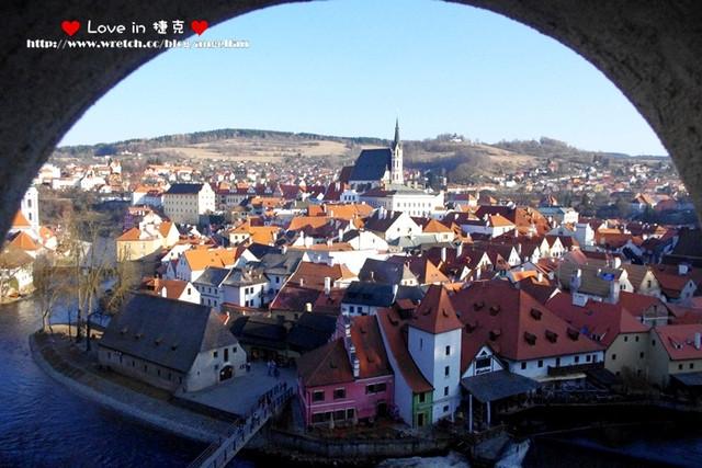 ❤Love in 捷克-4❤一生一定要去一次~歐洲最美的小鎮庫倫洛夫(城堡。Na Louzi餐廳)