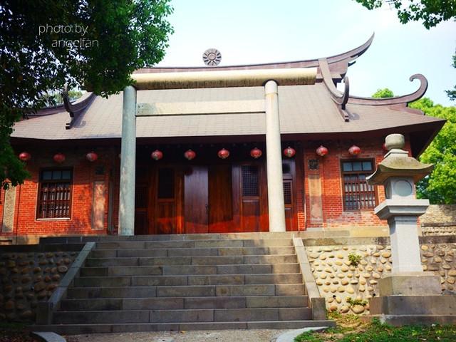 [玩♡苗栗]中國建築風巧妙融入了日式神社。通霄神社