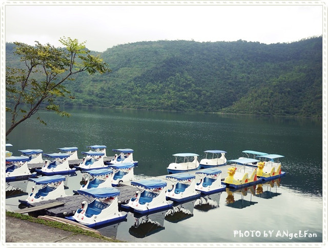 [玩♡花蓮]騎卡打車慢活在湖光山色裡。鯉魚潭風景區 @小環妞 幸福足跡