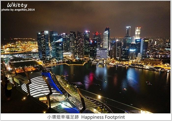 【新加坡景點】金沙酒店空中花園Skypark,絕美獅城夜景 @小環妞 幸福足跡