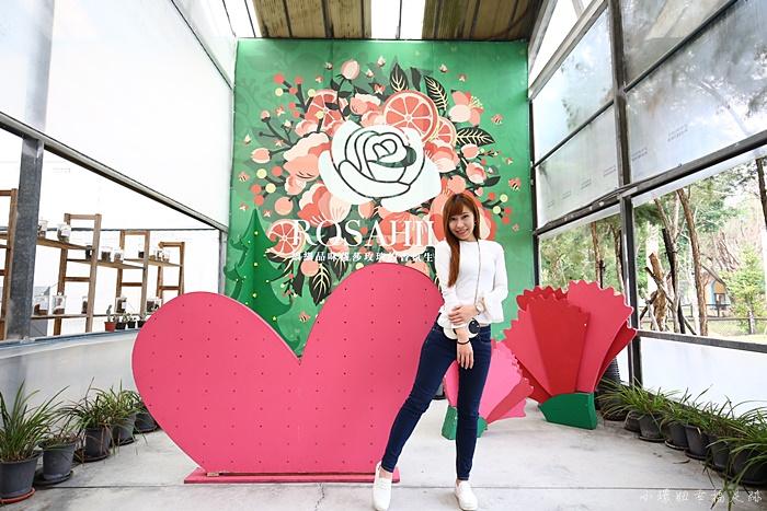 【雲林古坑景點】蘿莎玫瑰山莊,6000多坪超美莊園觀光工廠 @小環妞 幸福足跡