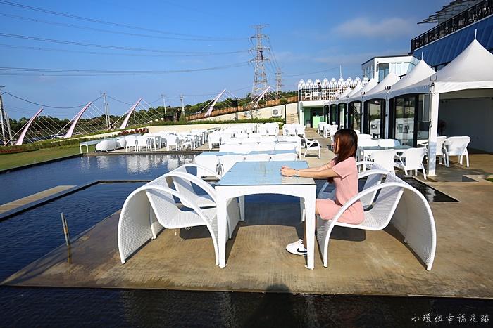 【夏季三角景觀咖啡廳】新竹新景觀餐廳,夢幻的熱門打卡景點 @小環妞 幸福足跡