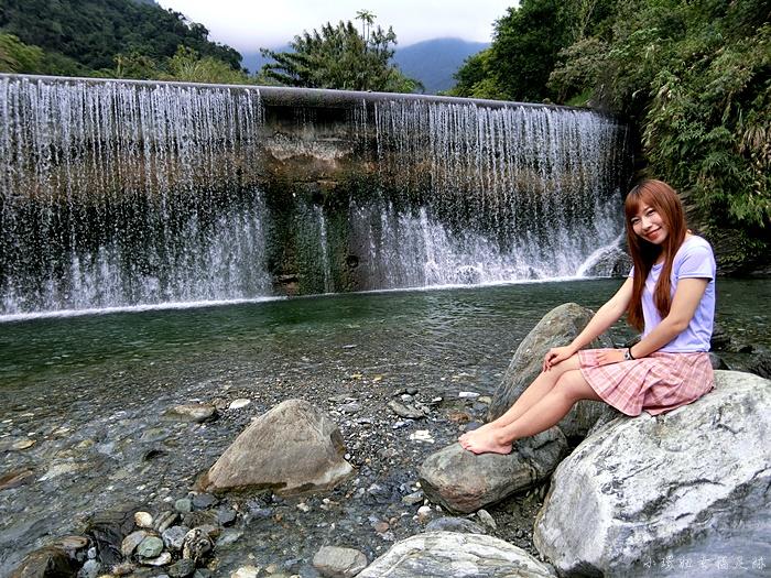【花蓮翡翠谷】花蓮私房秘境景點,夢中的水簾瀑布竟出現眼前?! @小環妞 幸福足跡