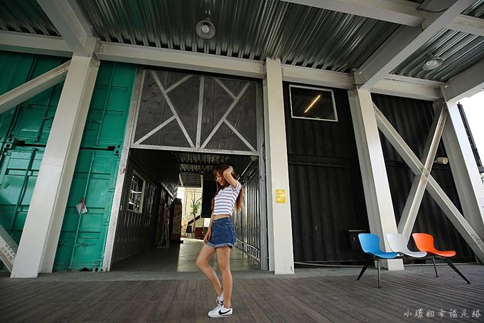 【屏東貨櫃屋】青創聚落i/o Studio,彩虹貨櫃迴廊,IG打卡景點 @小環妞 幸福足跡