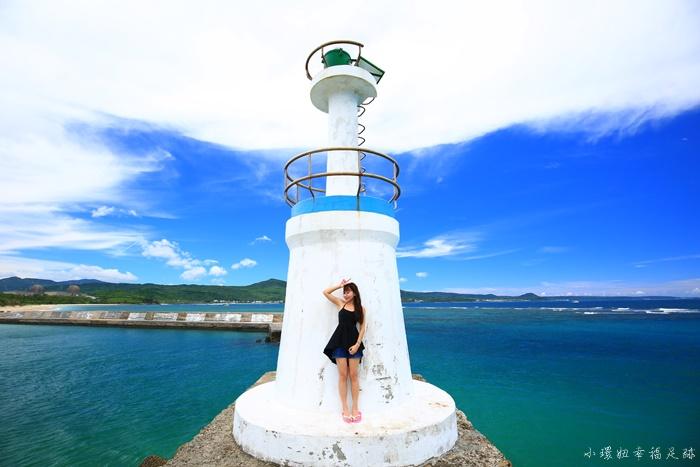 【墾丁秘境沙灘景點】星砂灣,夢幻白色燈塔,360度環景海景 @小環妞 幸福足跡