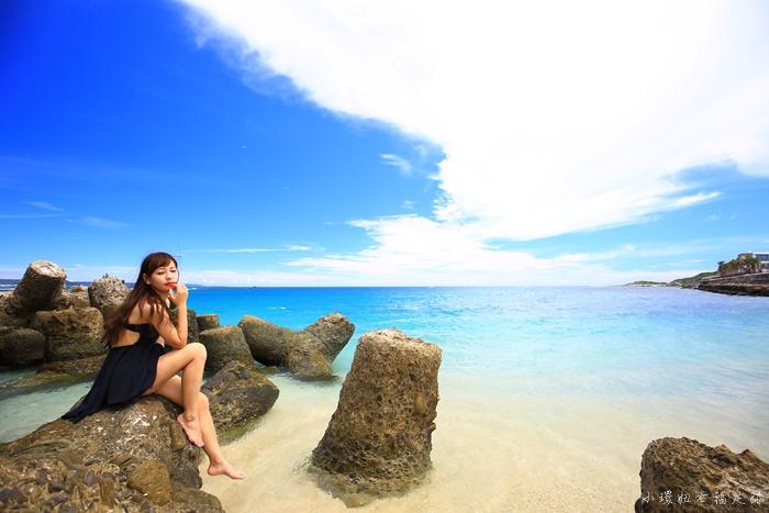 【墾丁秘境沙灘景點】星砂灣,夢幻白色燈塔,360度環景海景