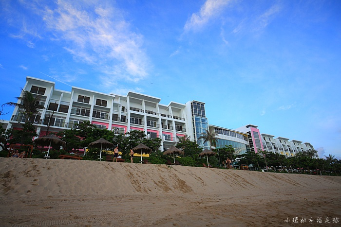 【夏都沙灘酒店】來墾丁推薦必住的飯店!絕美私人沙灘&泳池 @小環妞 幸福足跡