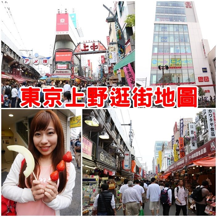 【上野逛街地圖】東京上野怎麼玩?阿美橫町必吃美食,必買藥妝