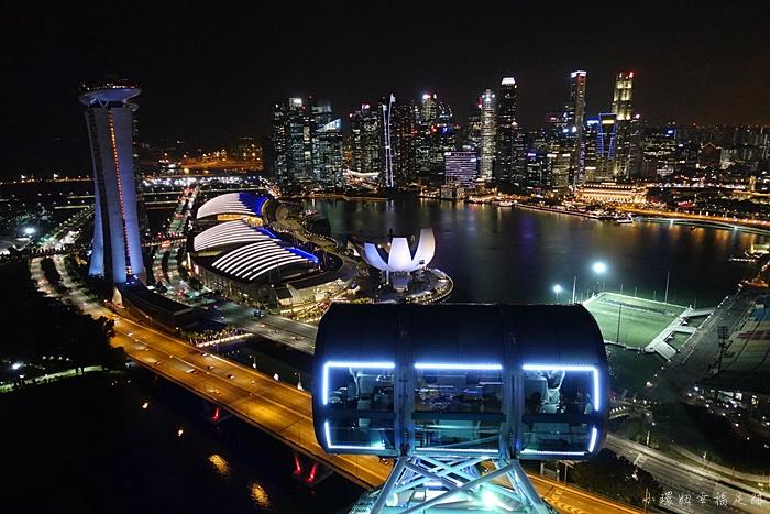 【新加坡摩天輪Singapore Flyer】夜景超美!先買好門票更優惠 @小環妞 幸福足跡